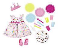 Набор одежды Baby Born День рождения с тортиком Zapf Creation 825242