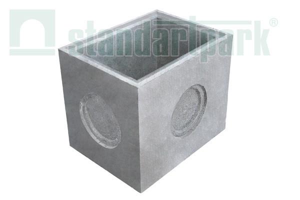 Дощоприймальний колодязь секційний BetoMax ДК-30.38.44-Б-Н бетонний (нижня частина) 4770/3