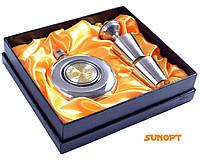 """Подарочный набор с флягой для мужчин 4в1 """"Jim Beam"""" GT-806-1"""