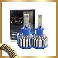 Комплект ламп для автомобиля Led T1 H7!Акция