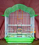 Клетка для мелких птиц. 37*28*48см. (эмаль), фото 3