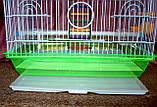 Клетка для мелких птиц. 37*28*48см. (эмаль), фото 5