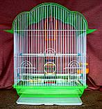 Клетка для мелких птиц. 37*28*48см. (эмаль), фото 6