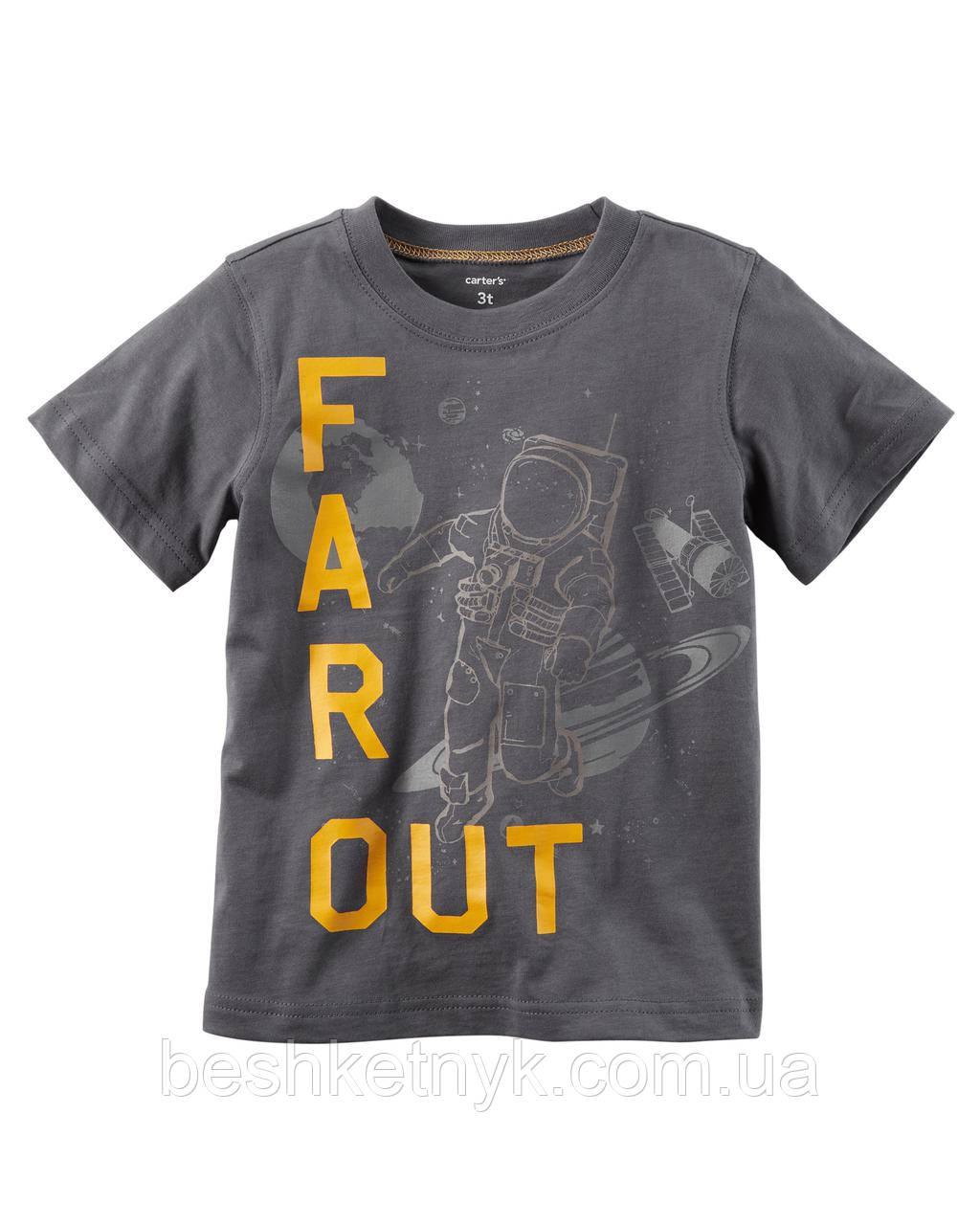 "Футболка Carter's - ""Far Out"" астронавт"