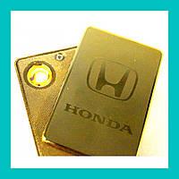 Электроимпульсная USB зажигалка HONDA!Акция