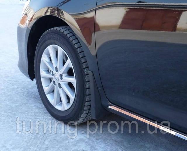 Брызговики, полный комплект на автомобиль Toyota Camry V50 2012-on