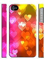 Чехол для iPhone 5/5s сердечки гламур