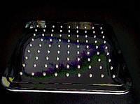 Лейка душевой системы D051410 (квадратная), 200*200 мм, пластик
