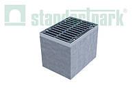 Дощоприймальний колодязь секційний BetoMax ДК-30.38.44-Б-В бетонний (верхня частина) 4770/1