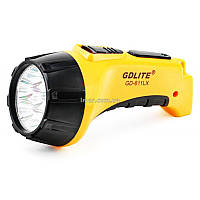 Фонарь светодиодный аккумуляторный 7 светодиодов Gdlite GD-611LX