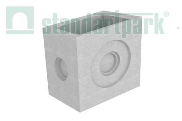 Дощоприймальний колодязь секційний BetoMax ДК-50.64.65-Б-С бетонний (середня частина) 4970/2
