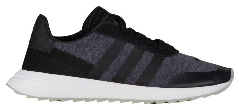 d791a4e28750 Кроссовки Кеды (Оригинал) adidas Originals FLB Runner Black White Grey -