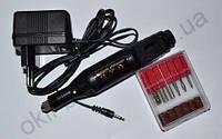 Фрезер-ручка для маникюра и педикюра (20 000 об., черная)