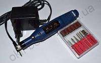 Фрезер-ручка для маникюра и педикюра (20 000 об., синяя)