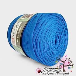 Пряжа для вязания ковриков Maccheroni Yarnart, василёк