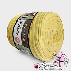 Пряжа для вязания ковриков Maccheroni Yarnart,  лимонный
