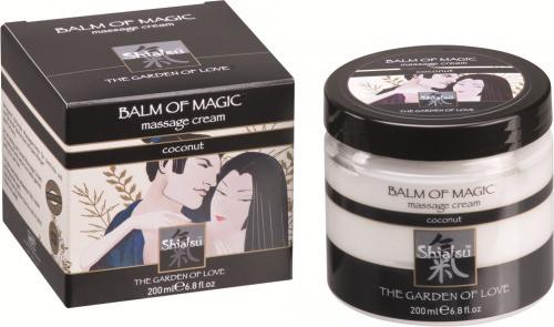 Массажный крем «BALM OF MAGIC» с запахом кокоса 200мл