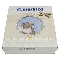 Плед Merinos акриловый апликация 100*118 100*118 2