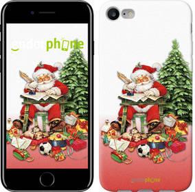 "Чехол на iPhone 7 Дед Мороз с подарками ""219c-336-450"""