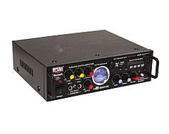 Стерео усилитель звука UKC AV-339B Bluetooth, USB, Karaoke