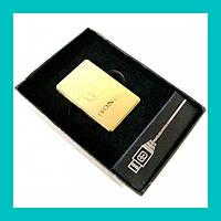 Электроимпульсная USB зажигалка HONDA!Опт
