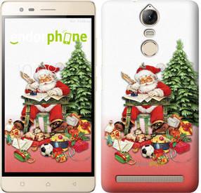 "Чехол на Lenovo Vibe K5 Note Pro Дед Мороз с подарками ""219c-394-450"""