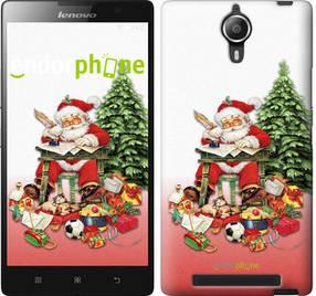 "Чехол на Lenovo P90 Дед Мороз с подарками ""219u-234-450"""