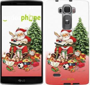 """Чехол на LG G Flex2 Дед Мороз с подарками """"219u-287-450"""""""