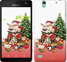 "Чехол на Sony Xperia C4 Дед Мороз с подарками ""219c-295-450"""
