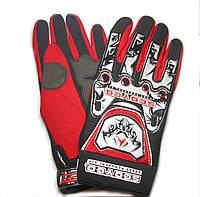 Мотоперчатки Scoyco B001 черно-красные, размер XL