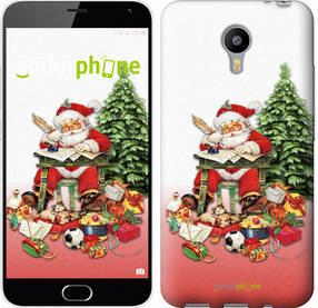 """Чехол на Meizu M2 Note Дед Мороз с подарками """"219c-94-450"""""""