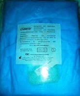 Халат медичний (хірургічний) на зав`язках довжиною 128 см (розмір 46-48 (М)) «Славна®» (СМС - 25 г/м2) стерильний (шт)