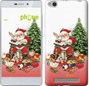 "Чехол на Xiaomi Redmi 3 Дед Мороз с подарками ""219c-97-450"""