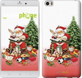 "Чехол на Xiaomi Mi Note Дед Мороз с подарками ""219u-102-450"""