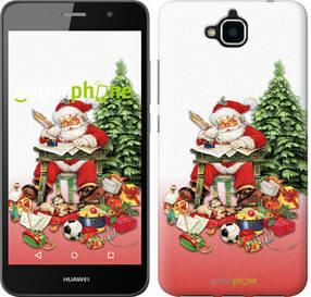 "Чехол на Huawei Y6 Pro Дед Мороз с подарками ""219c-355-450"""