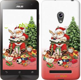 """Чехол на Asus Zenfone 5 Дед Мороз с подарками """"219c-81-450"""""""