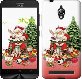 """Чехол на Asus Zenfone Go ZC500TG Дед Мороз с подарками """"219c-160-450"""""""