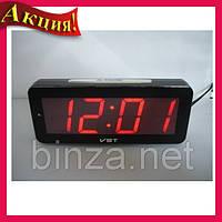 Часы электронные настольные VST 763T-1 Красная подсветка!Акция