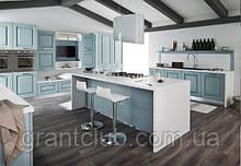 Крашенная кухня в стиле прованс из натурального дерева OLIMPIA фабрика AR-TRE (Италия)