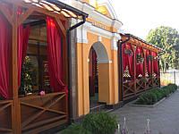 ПВХ шторы загородный ресторан