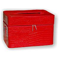 Чемодан для лампы красный лаковый 2700-9