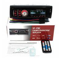 Автомагнитола SP-1782 USB SD красная подсветка