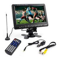 Автомобильный телевизор 9.5 дюймов HD USB SD ТВ 12 Вт