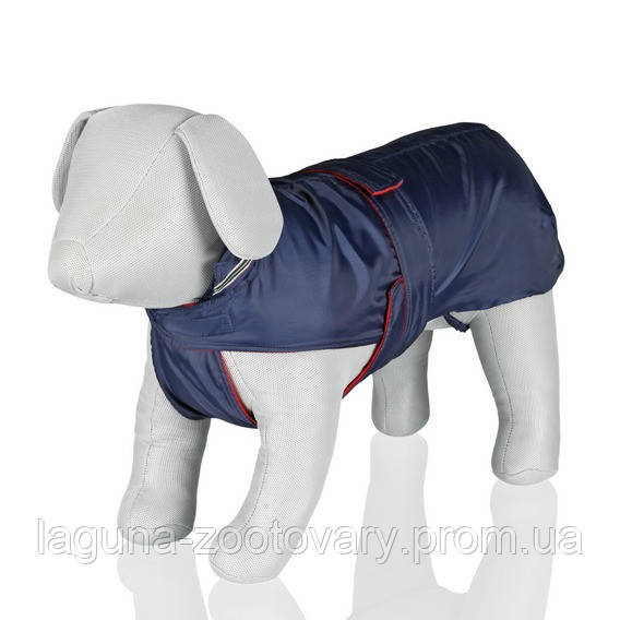 "Дождевик-попона  ""Genova"" для собак, 33см синий"