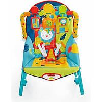 Кресло шезлонг от Fisher price 0-5 лет Сафари Safari Infant to Toddler