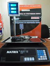 Весы торговые MATRIX MX-411, фото 3