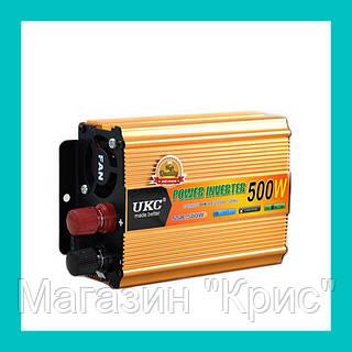 Преобразователь UKC Inverter 500W!Акция