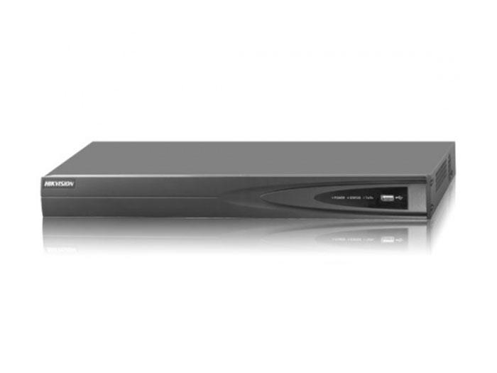 4-х канальный IP видеорегистратор c PoE Hikvision DS-7604NI-K1/4P