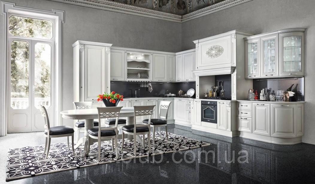 Класична біла кухня GINEVRA фабрика AR-TRE (Італія)