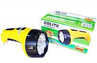 Фонарь светодиодный аккумуляторный 15 светодиодов Gdlite GD-612LX